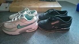 Boys Reebok and nike trainers infant size 8