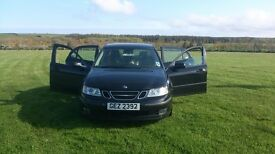SAAB 9-3 Full Service history, low mileage, 1 owner