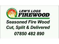 Logs for sale seasoned fire wood log burners
