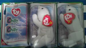 McDonald's Legends Ty Beanie Baby CHILLY *MINT/SEALED* *$10*