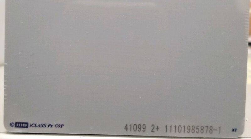 HID GLOBAL  2122BGGNNMCredentials, Cards, COMPOSITE ICLASS/PROX, (PACK OF 50)