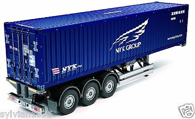 Tamiya # 56330 1:14 40ft Container Semi-Trailer - For RC Tractor Truck (NYK) for sale  Shipping to United States