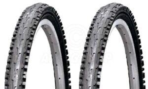 2-Bicycle-Tyres-Bike-Tires-Black-Mountain-Bike-26-x-1-95-High-Quality
