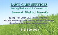 Lawn Care Services Pickering / Ajax / East Scarborough