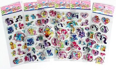 2018 Popular Children Stereoscopic Stickers- Sticker Lot Of 6 Value Gifts B79