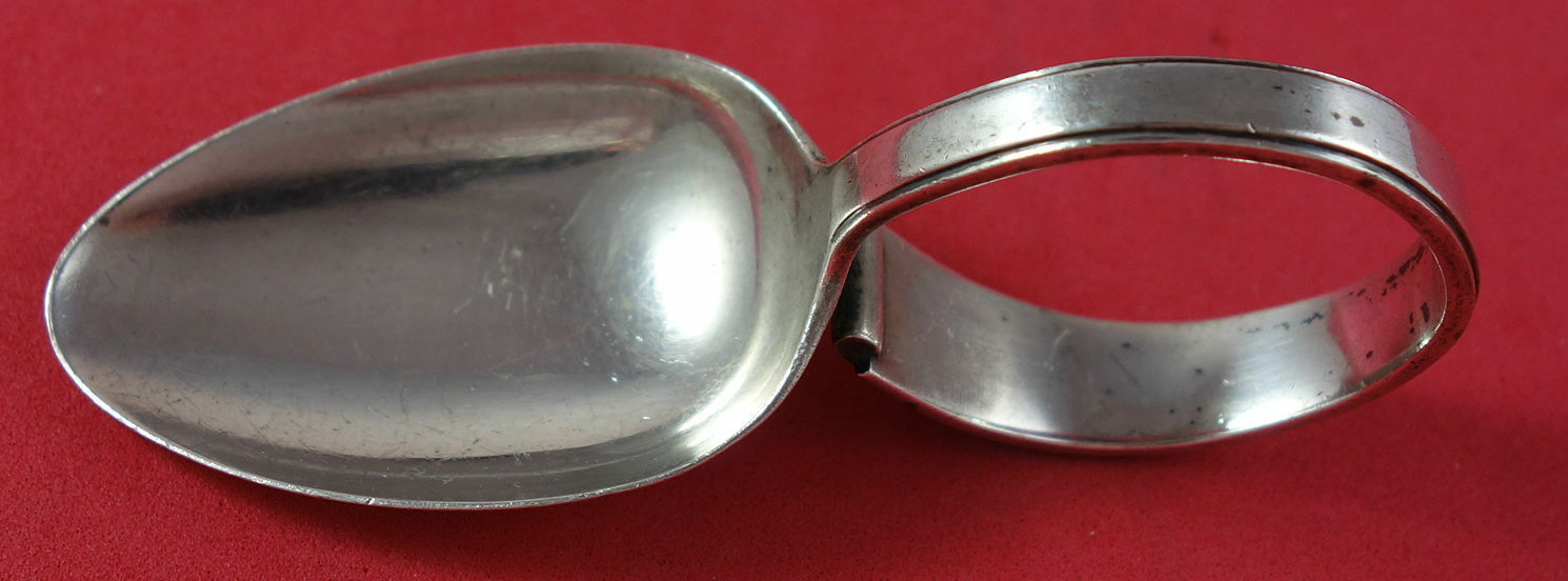Modern Classic By Lunt Sterling Silver Baby Spoon Bent 3 12