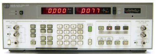 Agilent HP 8903B Audio Analyzer, 20 Hz to 100 kHz