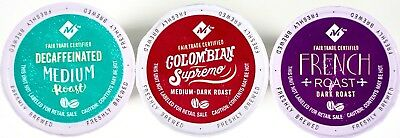 - Member Mark Colombian Supremo, Dark French Roast or Decaf Coffee K-Cup Pods