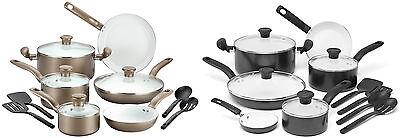 T-fal Initiatives Ceramic Nonstick Cookware Sets
