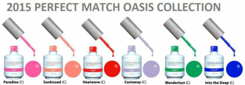 LeChat Perfect Match Gel Polish & Lacquer - Oasis Collection