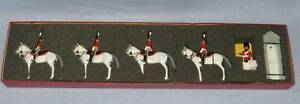 Britains Toy Soldiers Mounted Scots Greys Guards