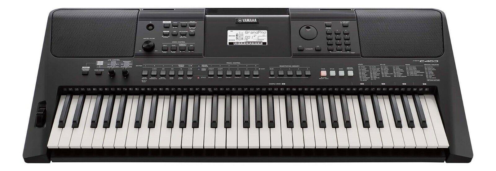 psr e463 portable keyboard