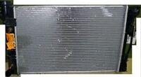 'new' aluminum 2 core radiator & copper A/C condenser, $25ea