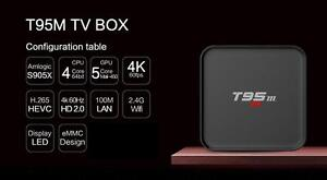 Free Delivery and Installation - Genuine T95M Android TV Box 6.0 Kodi S905X