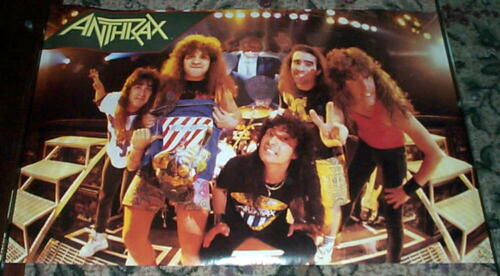 ANTHRAX Stage Vintage POSTER NEW Condition!