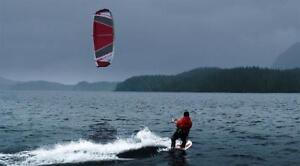 Learn to kiteboard kitesurf with a trainer kite