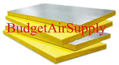 4 Sheets Fiberglass Ductboard 1.5 X 48 X 120 Duct Board R6 1-12 X 4ft X10ft