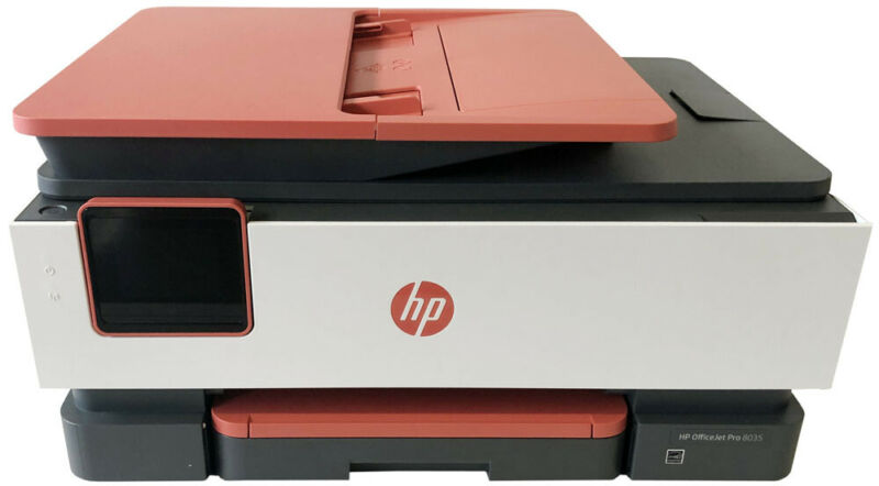 HP OfficeJet Pro 8035 All in one - New Printer (Red)