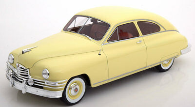 1949 Packard DeLuxe Club Sedan Light Yellow by BoS Models LE of 1000 1/18 New!