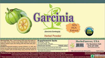Garcinia Cambogia Powder (For Weight Managment) 8.11 oz, 230gm