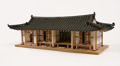 1 40 Korea Traditional Tile Roofed House Wooden Model Kit 3d Woodcraft