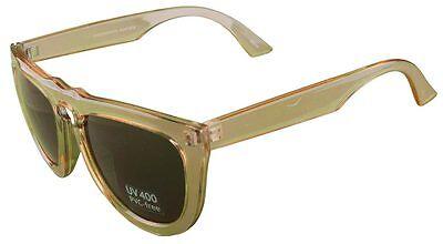 Quay 1466 Sonnenbrille Klar Rahmen Braune Linsen UV 400 Pvc-Frei Brillen