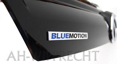 Blue Grill (Polo 6R Bluemotion Kühlergrill Klavierlack Grill Frontgrill Original VW Tuning)