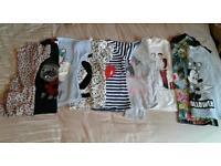 Large girls clothes bundle age 7/8