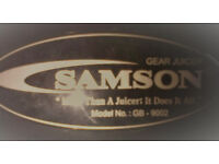 Samson 6 in 1 Masticating Juicer for nutrient rich juice extraction - Fantastic Deal!