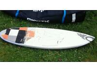 Cabrinha kite surf board