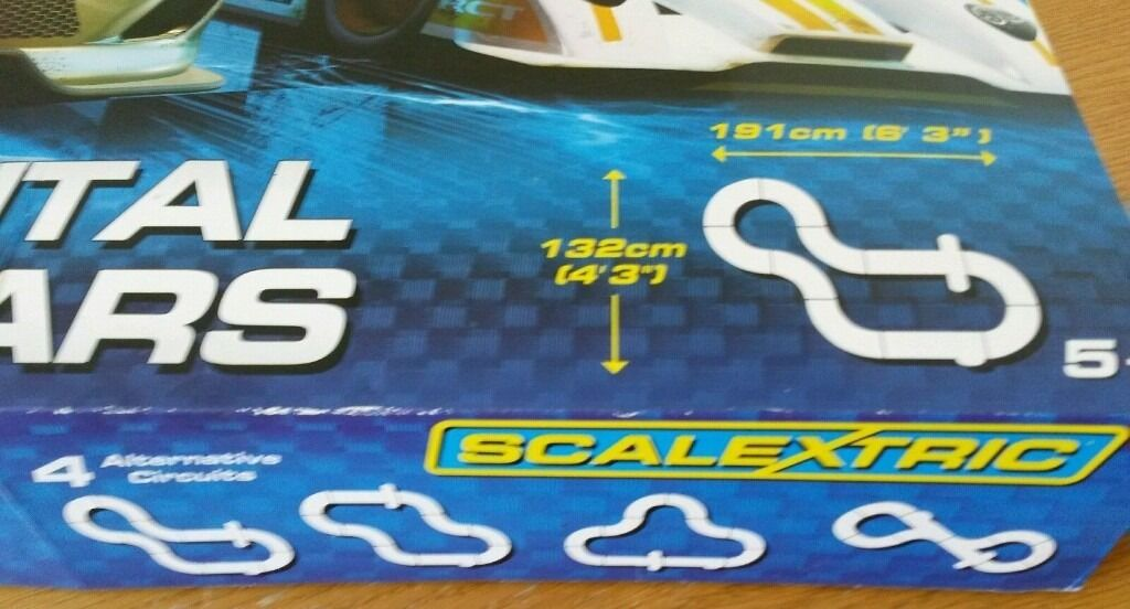 Scalextric Continental Sports Cars Best Price