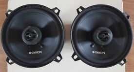 CAR SPEAKERS ORION CO500 5.25 INCH 2-way