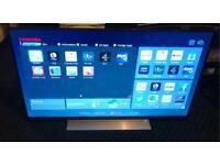 Toshiba 49U7763DB 49 Inch SMART 4K Ultra HD LED TV Freeview Play Black