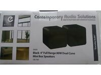 Bookshelf monitor speakers 80 watts of power