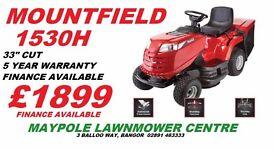 New Mountfield 1530H - Best Selling 33 Inch cut, 5 Year Warranty