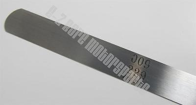 .002 .051mm Feeler Gage Gauge 12 Long Strip 12 Wide Usa Made Carbon Steel