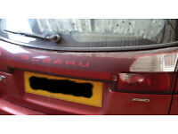 WANTED - Tailgate Light Panel for Subaru Legacy GL - 2002