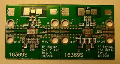 Pcb For Rfmd 5ghz 1w Sza-5044z Rf Mmic Power Ampqty.2
