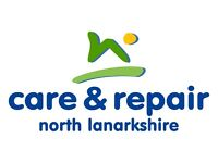 Volunteer Handyperson - Care & Repair North Lanarkshire - Come join our team of volunteers!