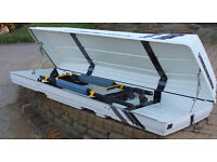 Car Roof Box Rensi 6000 and roof rack - collection only