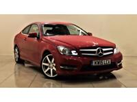 MERCEDES-BENZ C-CLASS 2.1 C220 CDI AMG SPORT EDITION PREMIUM 2d AUTO 168 (red) 2015