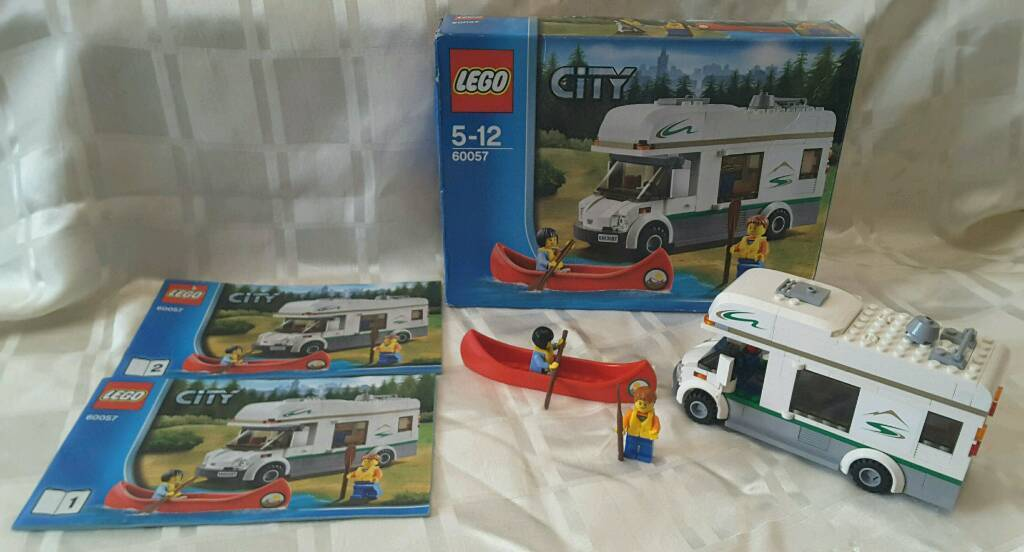 Lego City Campervan 60057 Complete With Box Instructions In