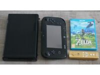 WiiU 32GB + Zelda: Breath of the Wild + limited edition Zelda WiiMote