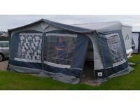 Dorema all season full caravan awning, size 15 (1000-1025), SPARES OR REPAIR
