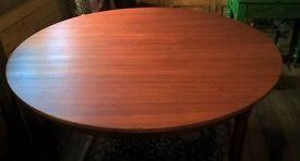 McIntosh Teak Ext Circular Dining Table