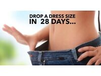 Drop a dress size in 3/4 weeks