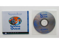 Space Quest 1 2 3 4 5 Collector's Edition, PC game, 1 CD, Sierra