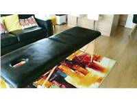 Massage portable table