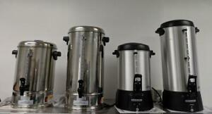 Brand New Commercial Coffee Urns And Percolators For Tea -- GREAT DEALS!!!!