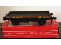 Hornby-Dublo 4645 Low-sided Wagon (D1) 13T B459325 XP